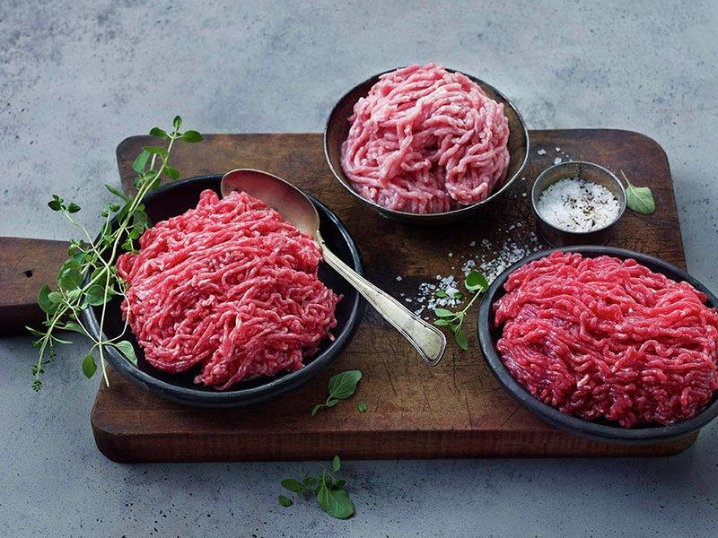 norsk kjøttdeig biff tartar