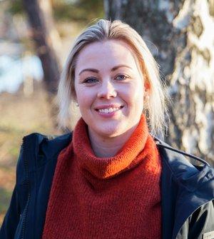 Kine Bjølsen Opstad, ansvarlig for hundeforsikring i If. Foto: Gunhild Gjølstad/If
