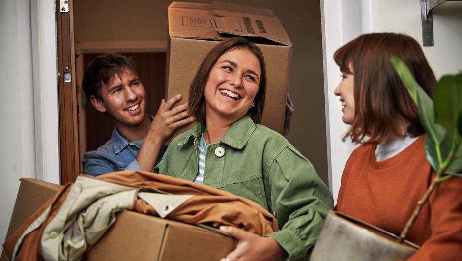 Hjälp med att flytta in