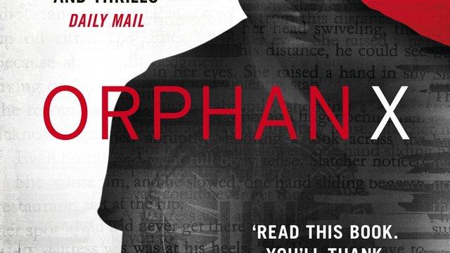 Orphan X bokomslag