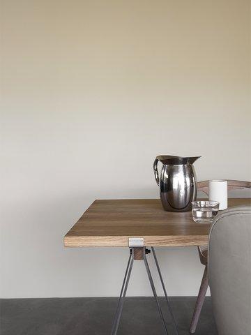 Minimalistisk og vakker spiseplass.