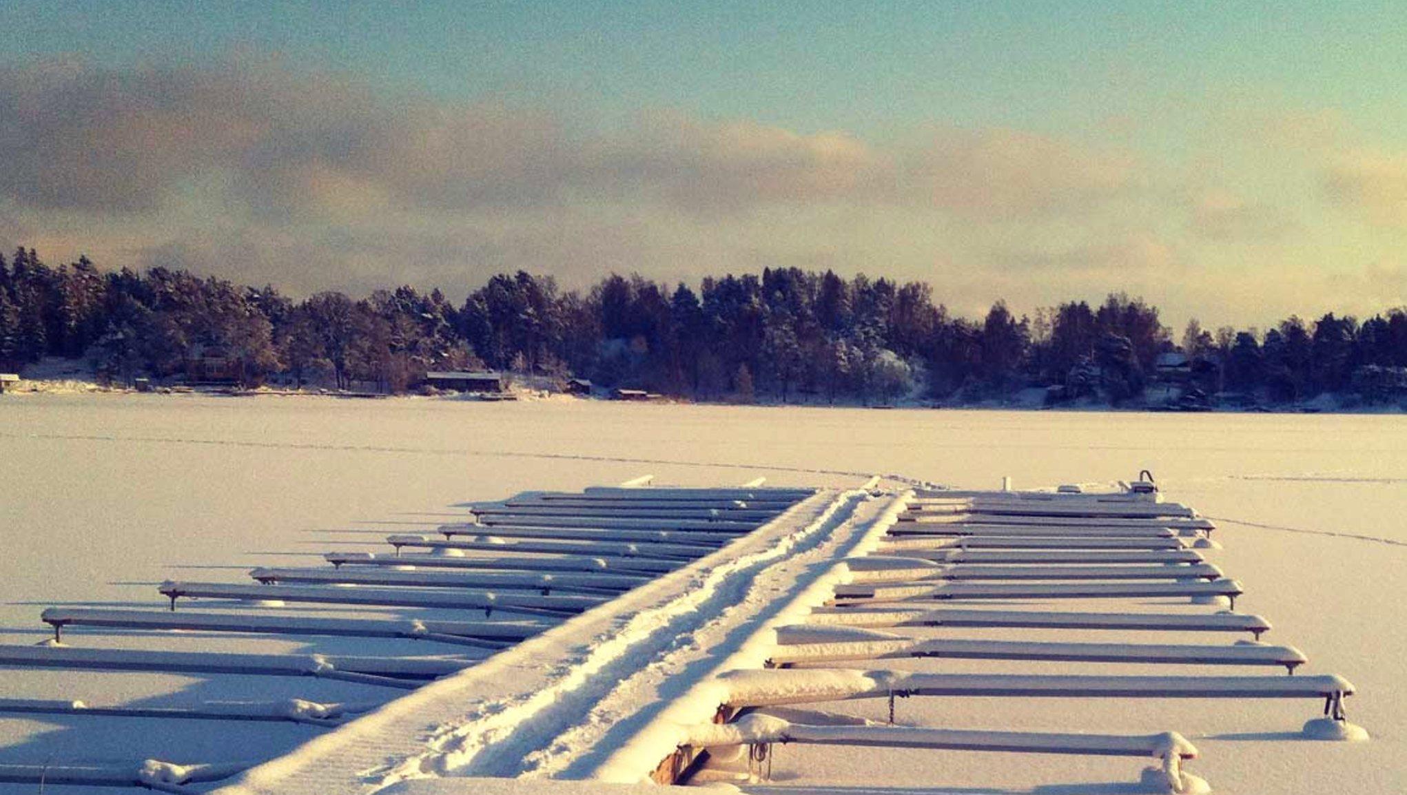 Vinterförvara båten