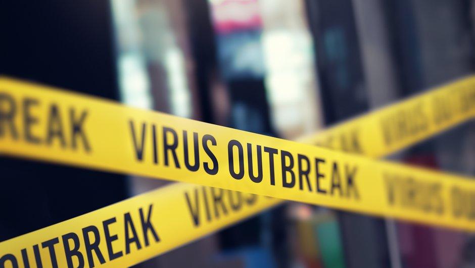 isolated area virus outbreak.