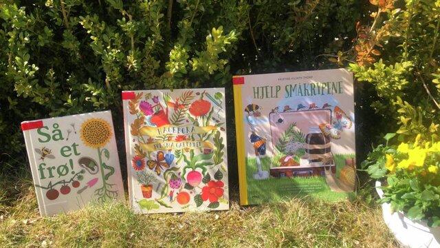 Bilde av hagebøker for barn
