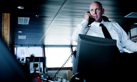Captain on board