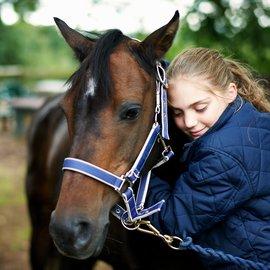 häst och tjej