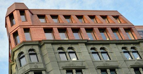 Ny fasade på Grensenveien