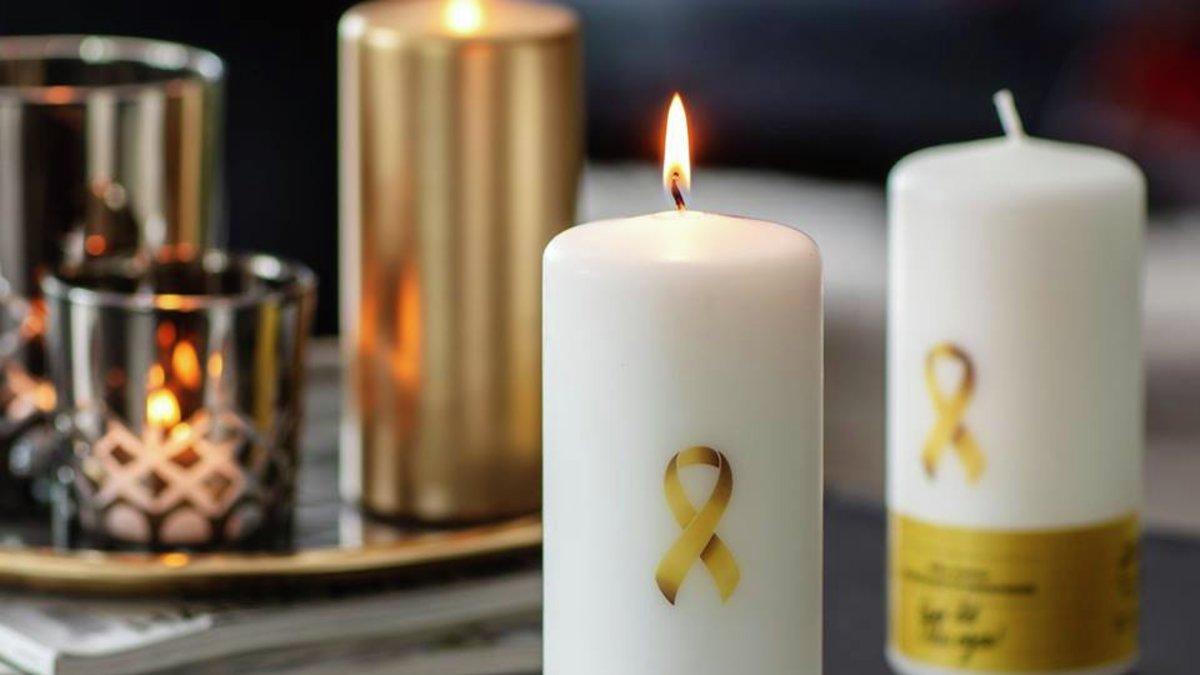Nille støtter barnekreftforeningen - halloweenfest på Rikshospitalet