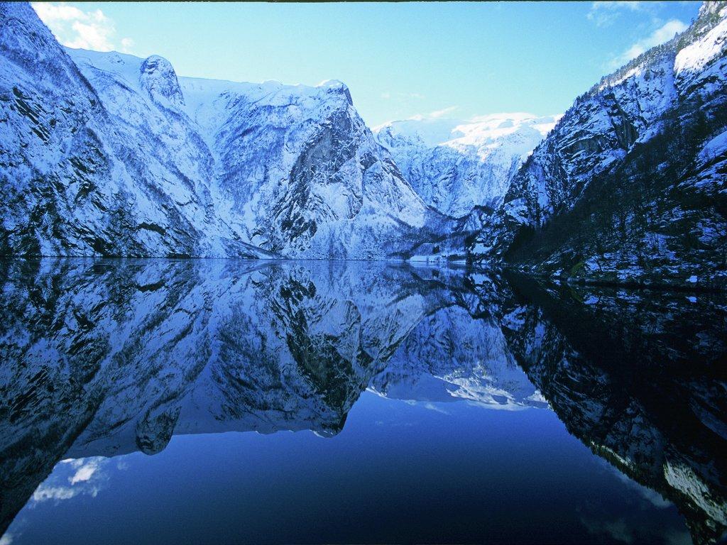 Foto frå Finnafjorden