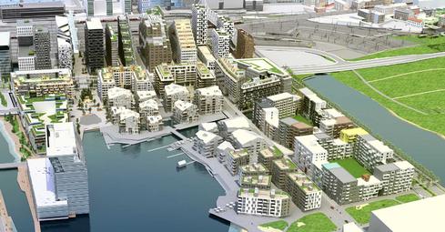 Boligutvikling i Bjørvika