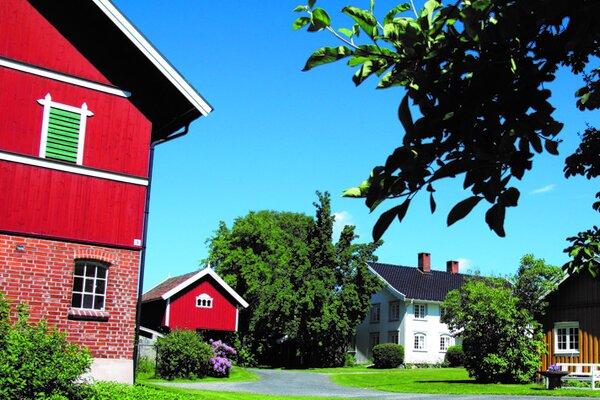 Nyhuus gard i Telemark: Lokalmatsommer