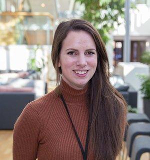 Malin Diesen, ansvarlig for barneforsikring i If. Foto: If