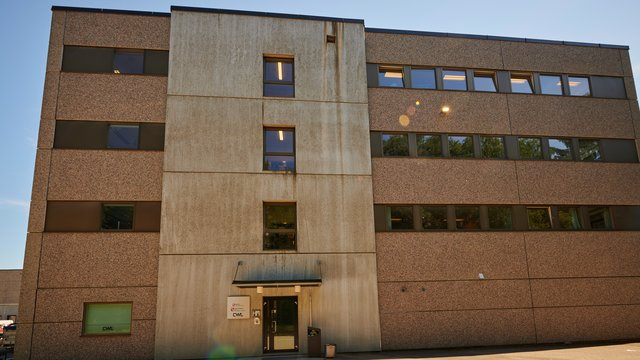 Bygning voksenopplæringen i Lillestrøm kommune