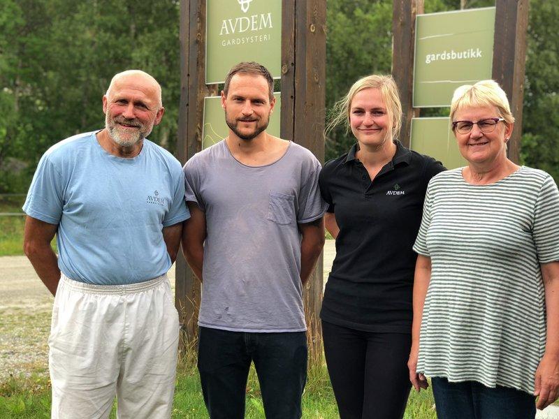 Familien Haugstad Avdem