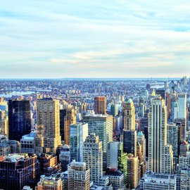 city view, decorative image
