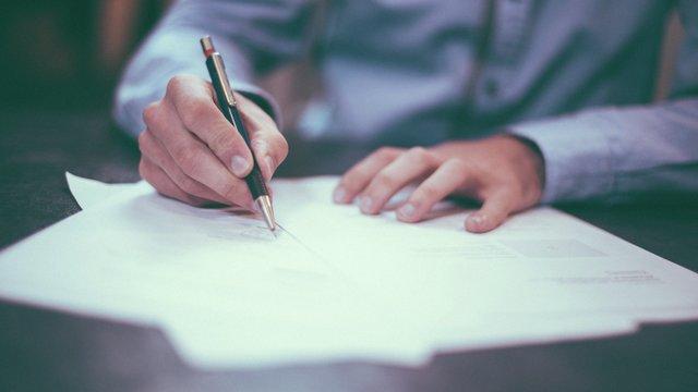 Signering av dokument