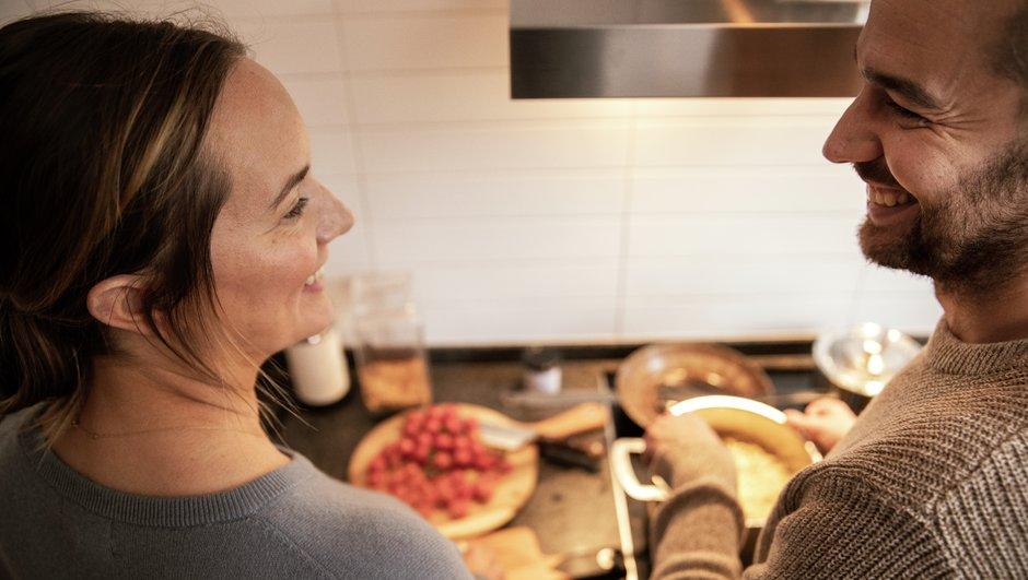 Sambos lagar mat tillsammans