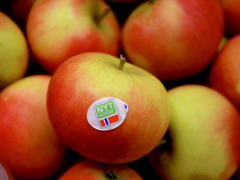 Saftige norske epler