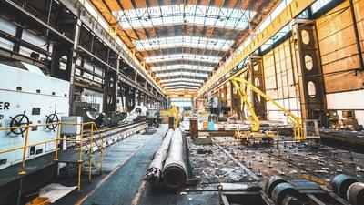 empty industrial venue