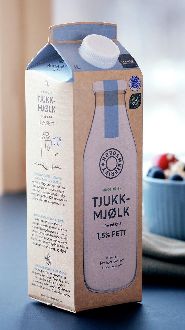 Tjukkmjølk fra Røros