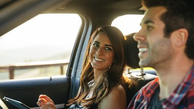 par på bilresa