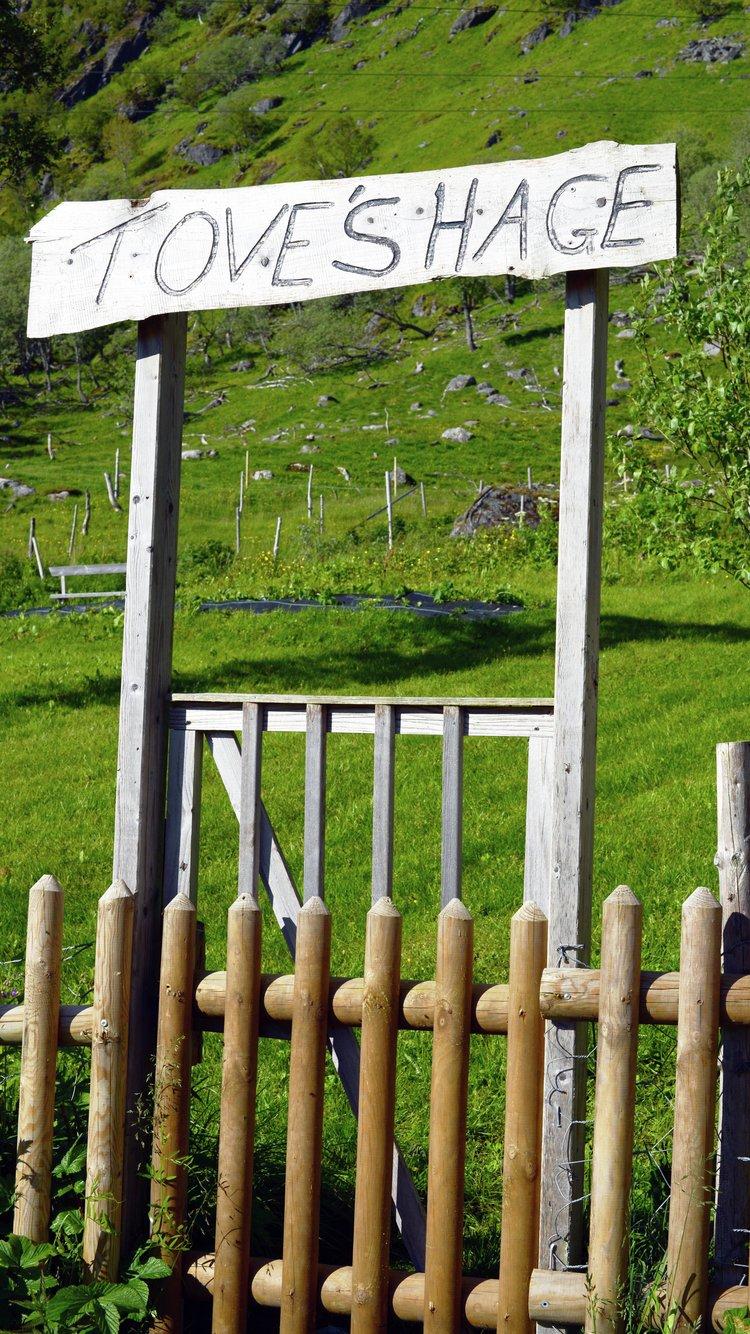 Urethagen på Aaland gård i Lofoten. Foto: Matmerk