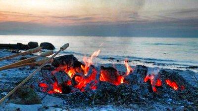 eld utomhus