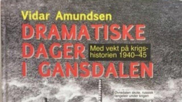 Bokomslag Dramatiske dager i Gansdalen
