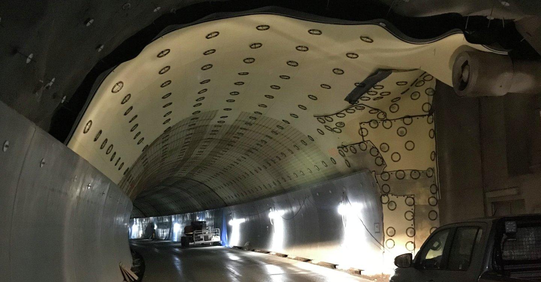 Tunnelutbedring Porsgrunn