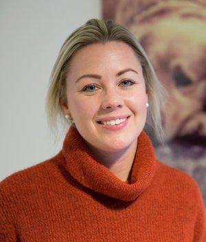 Kine Bjølsen Opstad, produktsjef for hundeforsikring i If. Foto: Gunhild Gjølstad, If