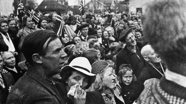 Sørumsand stasjon 1945