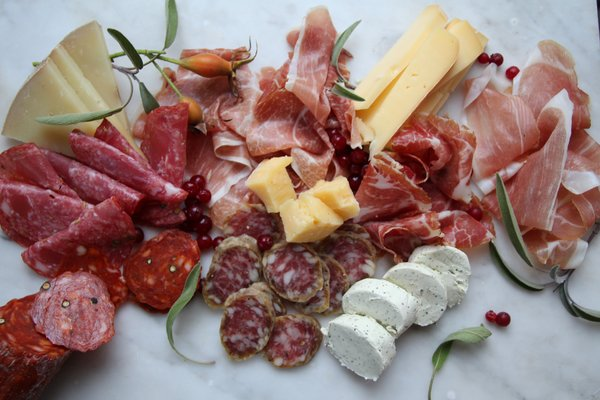 Norsk spekemat og norsk ost