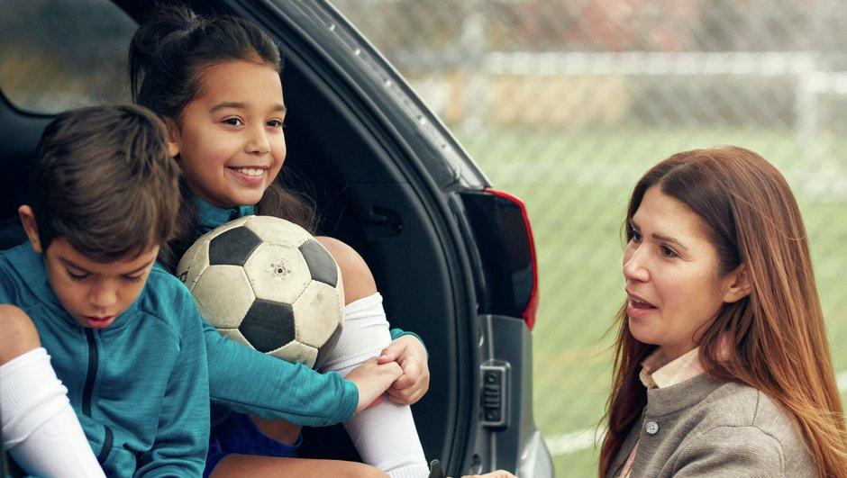 Fotbollsträning för barn