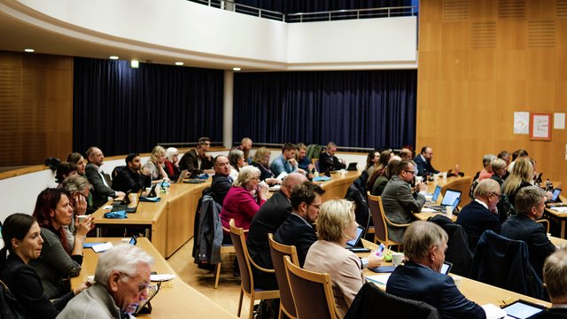 Møte i kommunestyret i Lillestrøm kommune