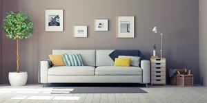 Vit soffa