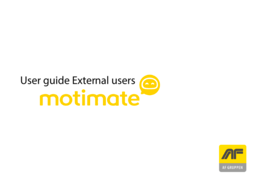 User guide external users