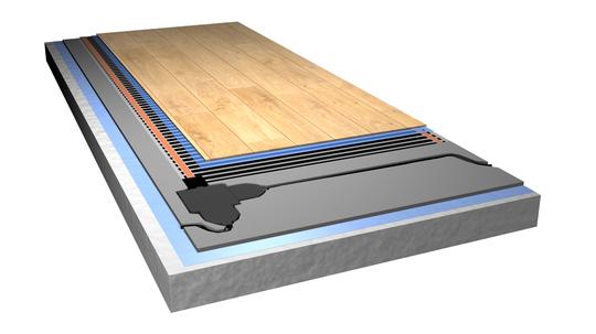 Du må ha et stabilt betonggulv for å bruke ProSmart.