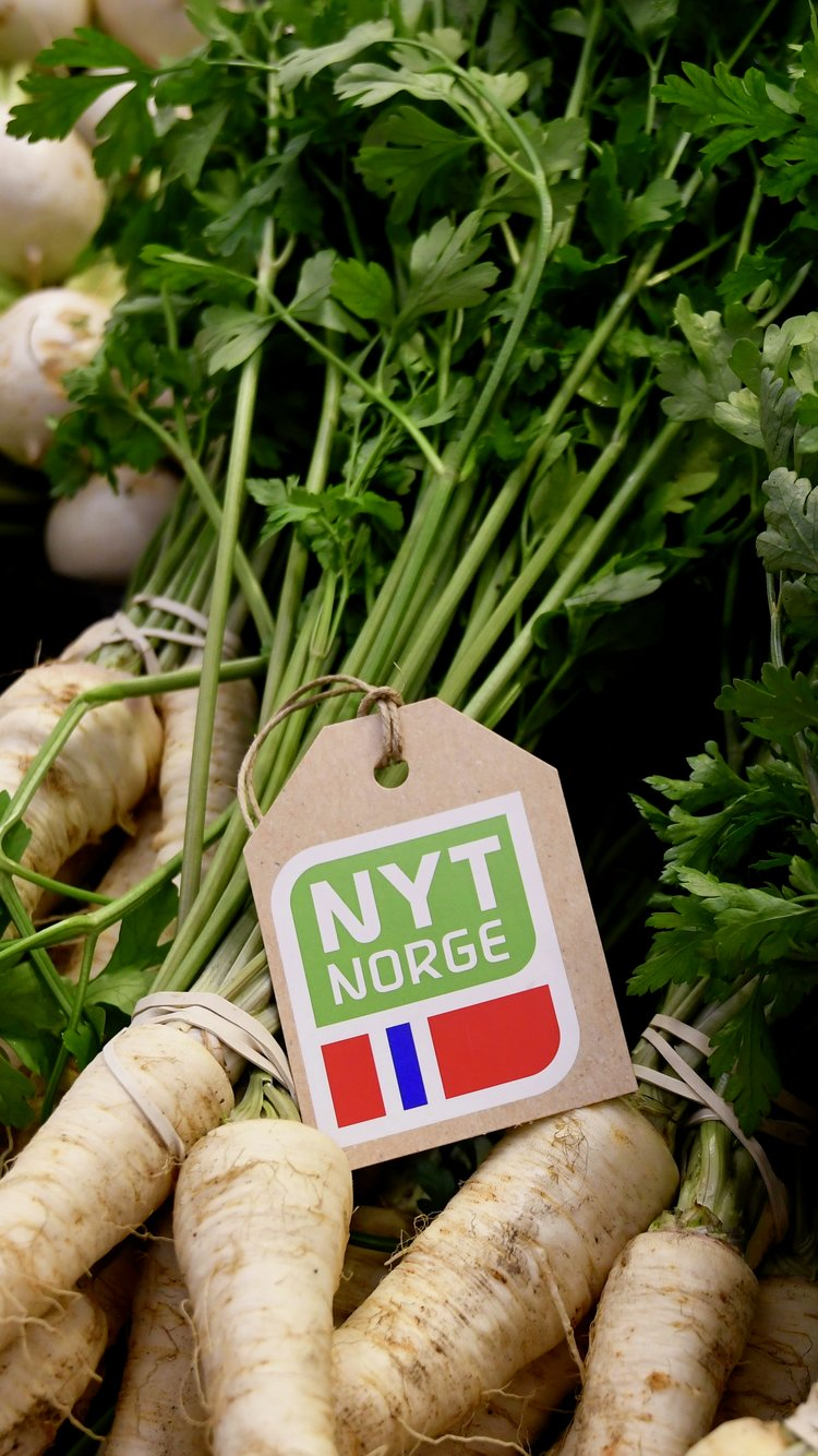 Persillerot med Nyt Norge
