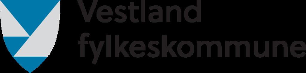 Illustrasjon som syner fylkeslogoen til Vestland fylkeskommune.