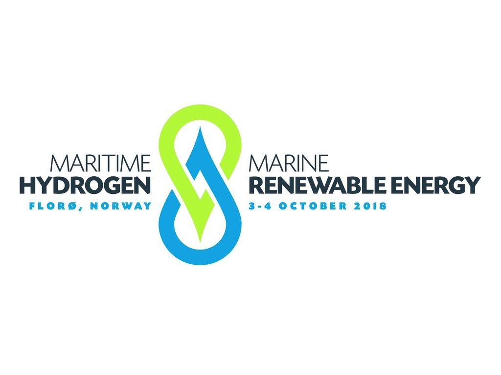 Logo for Konferanse for maritim hydrogenteknologi og marin fornybar energi i Florø 3.–4. oktober