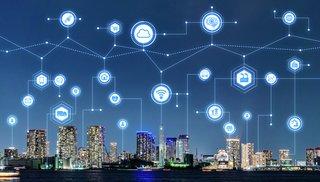 Smart by og telekommunikasjonskonsept