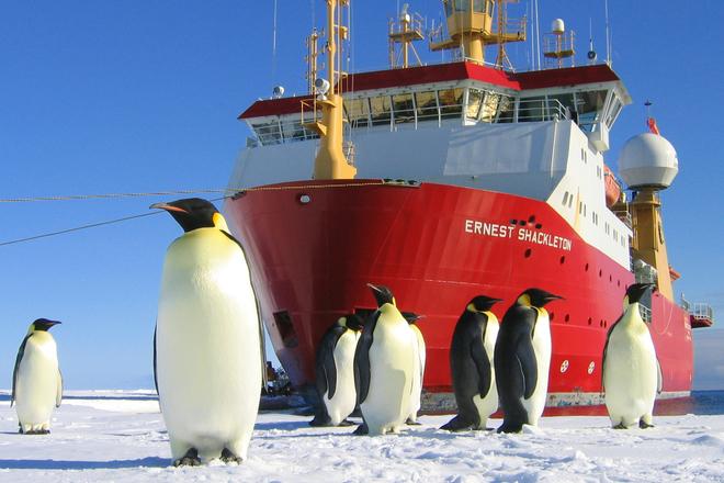 Ernest Shackleton Polar Research Vessel