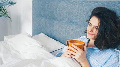 Nedbäddad i sängen