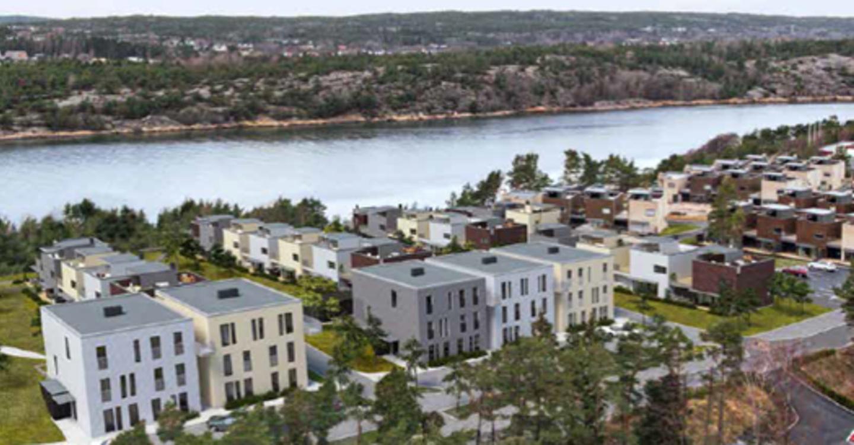 Vestre Langøyåsen, AF Gruppen