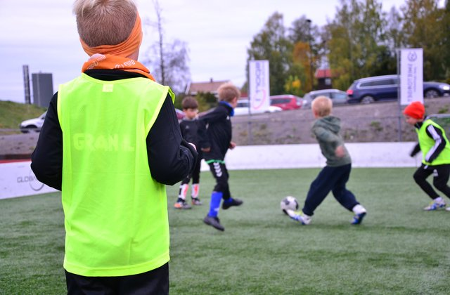 Fotballtrening med Gran IL
