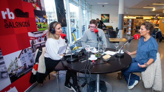 Podcast med Lise Finckenhagen. Britt Hoffshagen og Lars MJ Hansen.