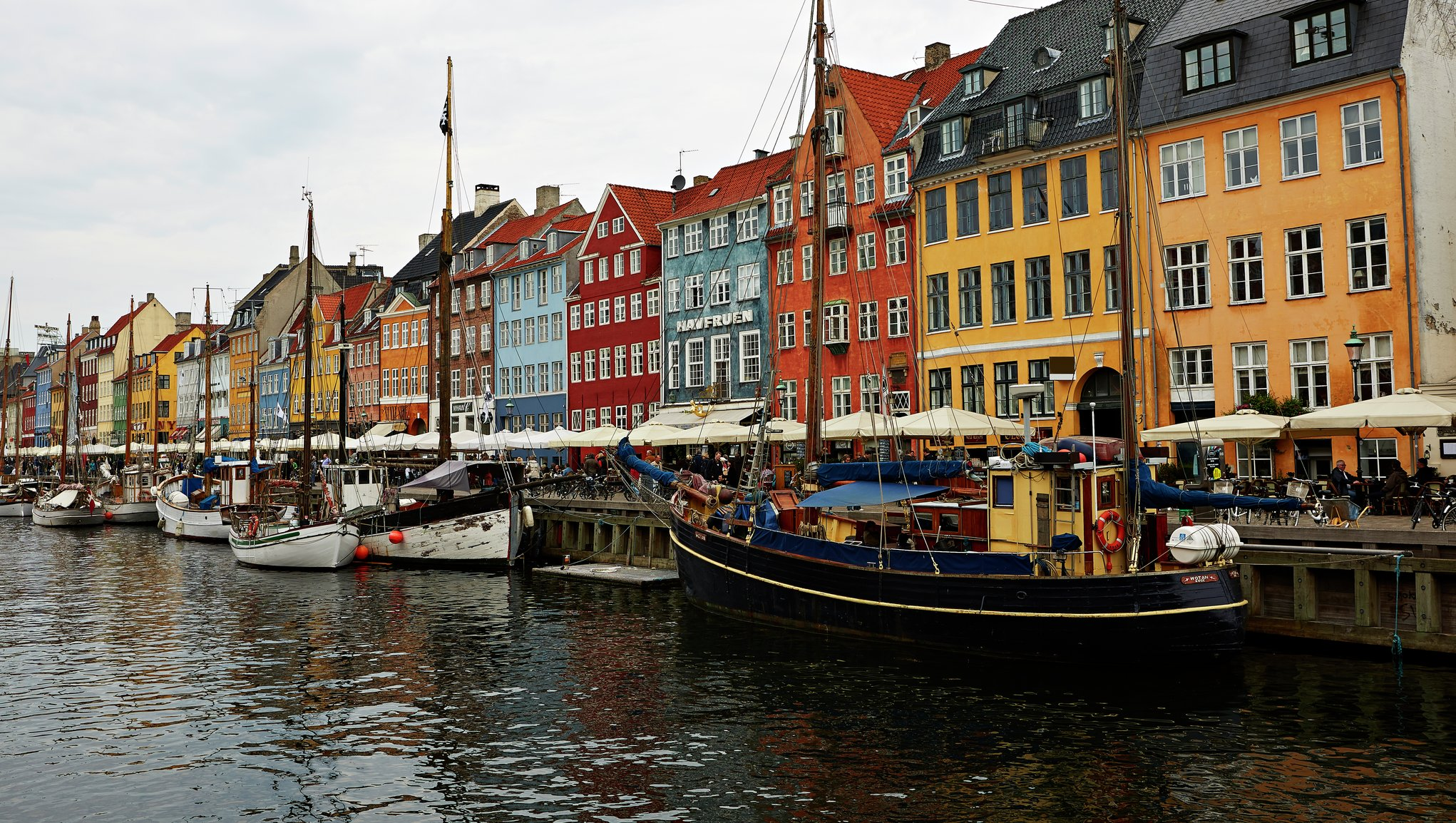 Nyhavn, Copenhagen Denmark photo