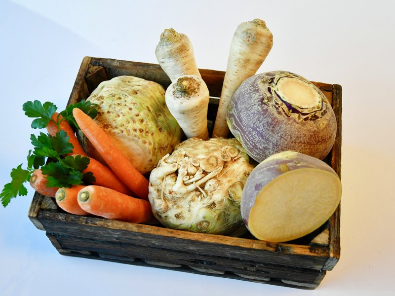 Friske rotgrønnsaker