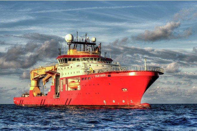 Polar Queen subsea vessel