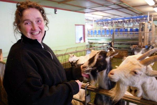 Marielle de Roos på Lofoten Gårdsysteri